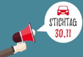 Kfz-Versicherung Stichtag am 30. November